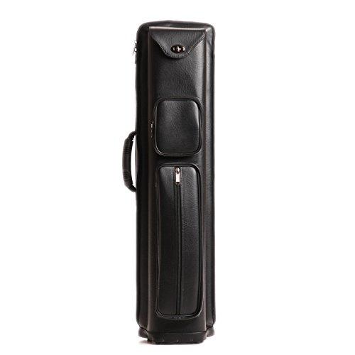 4x6 Pro 4B6S Combo Cue Case - 4 Butt / 6 Shaft - Black Leatherette