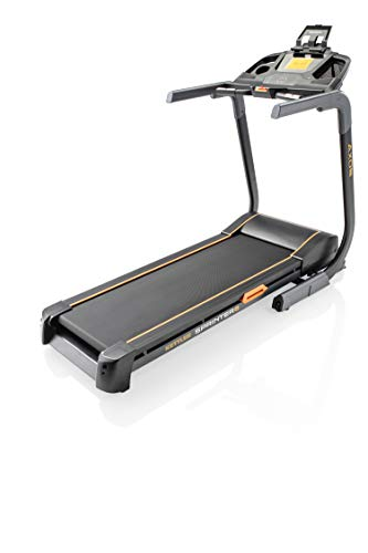 Kettler 07880-900 - Tapis roulant unisex adulto Sprinter 6, con supporto per tablet e display LCD, colore: Argento/Nero