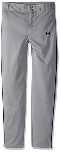 //Midnight Navy Under Armour Boys Utility Relaxed Piped Baseball Pants Youth Large 102 White