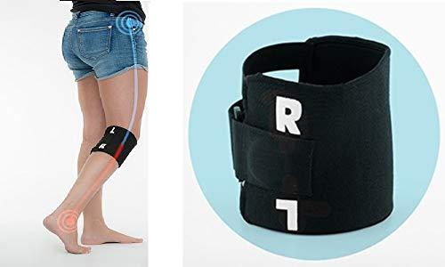 ENERGY01 - Rodillera de acupresión con punto de presión para aliviar el dolor ciático, dolor de espalda, tendinitis, protección durante la práctica de deporte