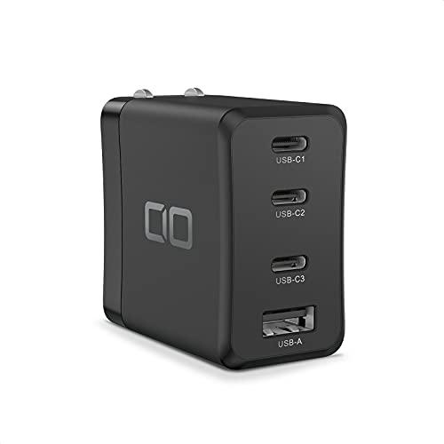 CIO LilNob Share USB PD 4ポート 65W 急速 充電器 卵サイズ GaN(窒化ガリウム)/ Type-C/USB-C/PPS/軽量 ...