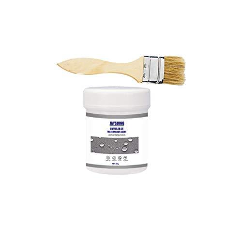 Agente impermeable antifugas, con revestimiento impermeable, adhesivo permeable invisible para azulejos de baño, para paredes exteriores y techos, 30/100/300 ml (A:30 g)