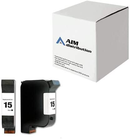 AIM Compatible Replacement for HP NO. 15 Black Inkjet (500 Page Yield) (C6615AN) - Generic