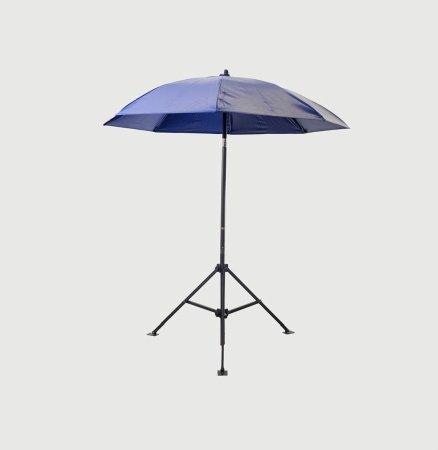 Lapco 160-UM7VB Heavy Duty Umbrella44; Blue Vinyl44; 7 ft. Dia.x 6.5...