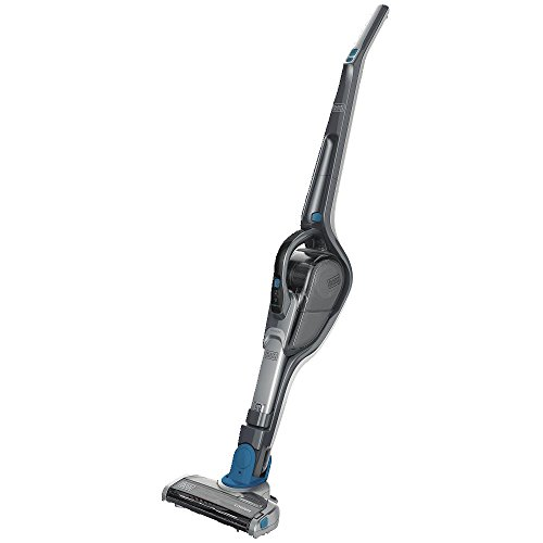 BLACK+DECKER Cordless Stick Vacuum & Hand Vac, 2-in-1, Titan Blue (HSVJ520JMBF61)