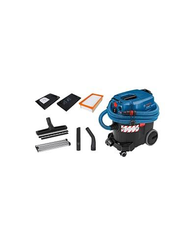 Bosch 06019C36W0, Acqua e Polvere Gas 35 H AFC, Aspiratore Sacchetto Dyson Punto Nero Piscina Robot Scopa Senza Fili Auto Tavolo Rowenta aspirapolvere Karcher, Blu