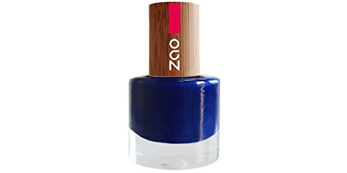 Zao - Esmalte de uñas de bambú - No. 653 / Night Blue - 8 ml