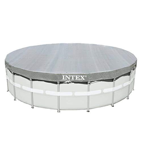 Intex Cubierta para Piscina Redonda 549 cm Terraza Jardín Patio Enrollamientos