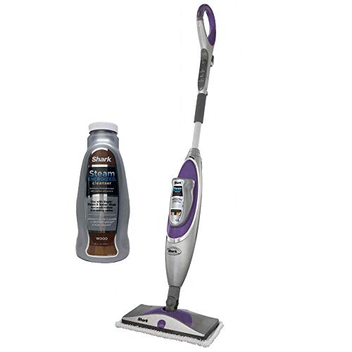 Shark SK460 Steam & Spray Professional Steam Steamer Mop w/Wood Floor Cleanser