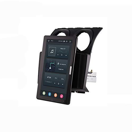 Autoradio 2 Din Android Bluetooth Manos Libres Multimedia GPS Radio De Coche Pantalla Táctil De 13.3'' Auto Rotativo Cámara De Respaldo/DSP/FM for Nissan Qashqai 1 J10 2006-2013,Frame 1,PX5 10.1inch