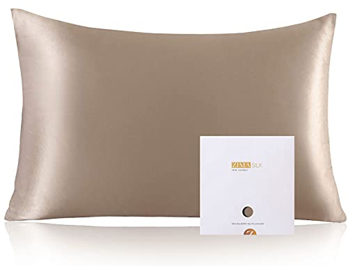 ZIMASILK 100% Mulberry Silk Pillowcase for Hair and Skin Health,Soft...