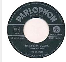 No Reply The Beatles Baby's In Black Italy 45 RPM