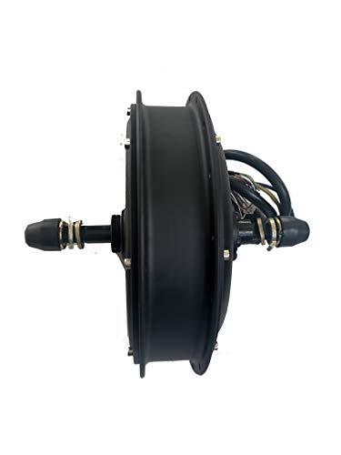NBPOWER Bürstenloser Gleichstrom-Nabenmotor für Elektrofahrrad, 3000 W, für 3 kW, E-Bike-Nabenmotor