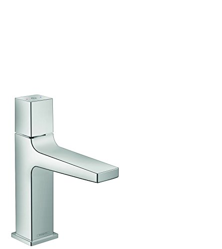 hansgrohe Metropol Modern Low Flow Water Saving -Handle 1 8-inch Tall Bathroom Sink Faucet in Chrome, 32571001