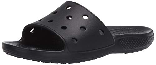 Crocs Classic Slide, Sandali a Punta Aperta Unisex-Adulto, Black, 39/40 EU