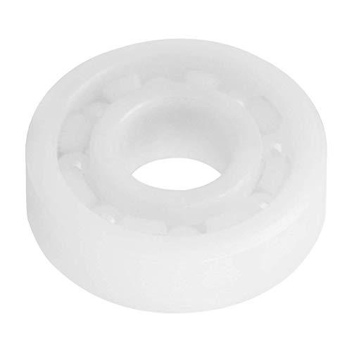 SNOWINSPRING 695 Keramikkugellager, Vollkeramik 695 Kugellager 5X13X4Mm Wei? Farbe ZrO2 Miniaturkugellager