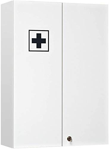 Pelipal - Wien - Medizinschrank, 50 cm, 2-türig, 1 Schloß, 4...