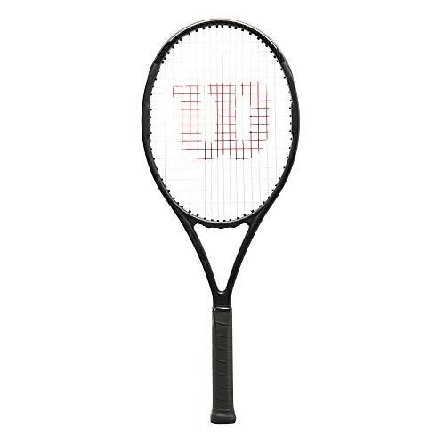Wilson Tennisschläger Pro Staff Team, Freizeitspieler, Carbonfaser, Schwarz, WR068710U4