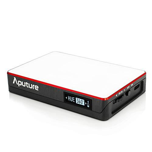 Aputure AL-MC 撮影ライト RGBライト ポケットライト RI96+ 3200K-6500K 無段階調光 内蔵リウム電池 Bluetooth接続 アプリにてコントロールができる