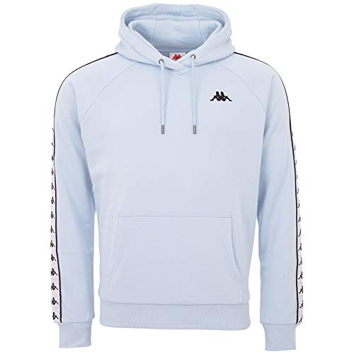 Kappa Herren Authentic FINNUS Kapuzensweatshirt, cashmire Blue, M