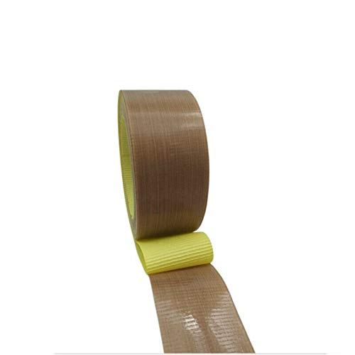 PTFE-Klebeband, SENRISE Hitzeversiegelung, Teflonband, selbstklebend, 1 Stück, gelb