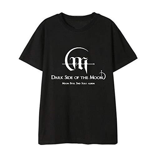APHT Unisex KPOP MAMAMOO Camisetas tee Cuello Redondo Tops para Hombres y Mujeres Solar MOONBYUL WHEEIN HWASA