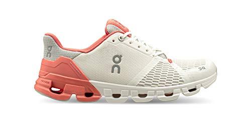 On Running W Cloudflyer Weiß, Damen Laufschuh, Größe EU 42.5 - Farbe White - Coral