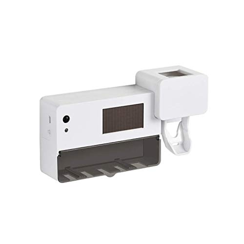 YFDD Intelligente UV Spazzolino sterilizzatore Non Perforata Spazzolino Disinfezione Stand Bagno Spazzolino Elettrico Hanging Mensola aijia