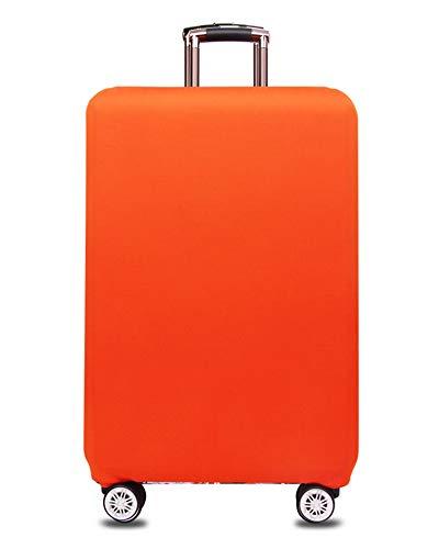 Coprivaligia con cerniera - Fodera copertura protettiva copri valigia trolley - Copritrolley leggero elastico in poliestere e spandex per