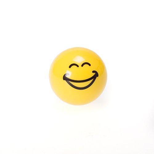 SMILE - Set di 2 balsami per labbra alla vaniglia, colore: giallo