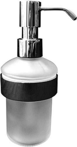 Duravit 0099161000 Seifenspender D-Code Wandmodell, Glasbehaelter matt, verchromt