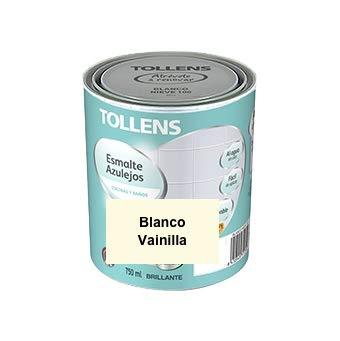 Tollens - Esmalte para azulejos al agua 750 ml (Blanco Vainilla 211)