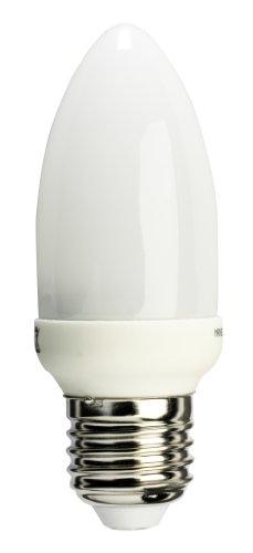 Maxell 744045 - Bombilla LED con forma de llama (260LM, 6400 K, 4 W, E27, 230 V), luz natural