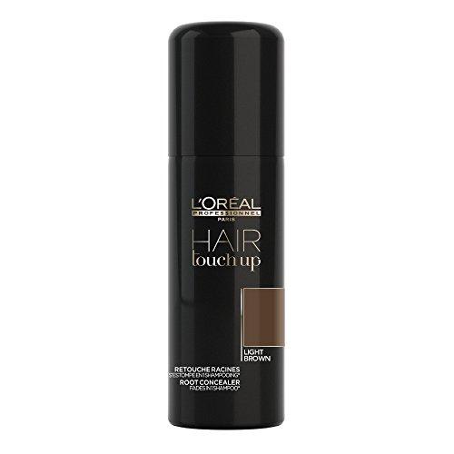 L'Oreal 913-98345 Hair Touch Up Shampoo Correttore di Radici, 75 ml, Castano Chiaro (Light Brown)
