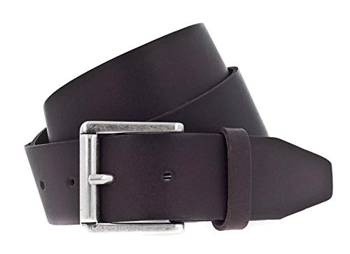 Vanzetti 40mm Leather Belt Denim Love 40mm Leather Belt W85 Dark Brown