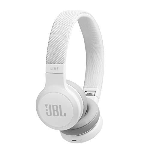 JBL LIVE 400BT, On-Ear Wireless Headphones, White