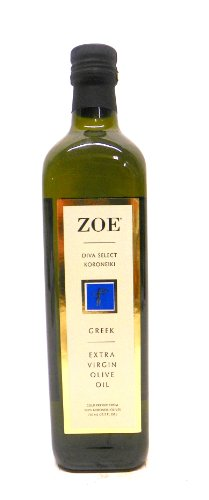 Zoe Diva Select Koroneiki Extra Virgin Olive Oil Made in Greece, 22-Ounce