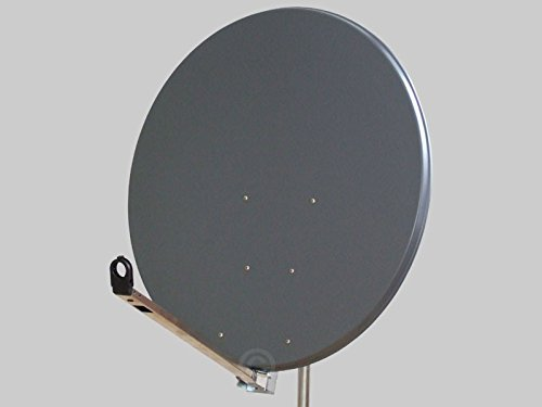 Antenne Gibertini 100 cm Alu Anthrazit L-Serie