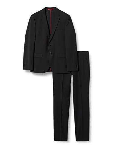 HUGO Mens Arti/Hesten204X Suit-Dress Set, Black (1), 46