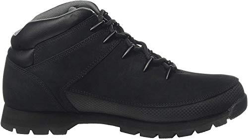 Timberland Herren Euro Sprint Hiker Chukka Boots, Schwarz (Black Nubuck), 45 EU