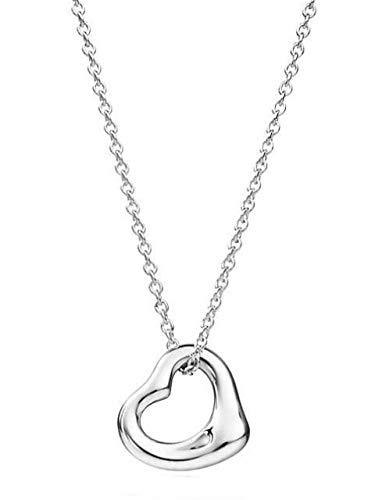 Tiffany&Co. 25152336 エルサ・ペレッティ オープンハート ティファニー ペンダント シルバー925 ネックレス