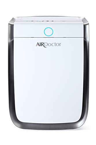 AIRDOCTOR 4-in-1 Air Purifier for Home and Large Rooms with UltraHEPA, Carbon & VOC Filters - Air Quality Sensor Automatically Adjusts Filtration! Captures Particles 100x Smaller Than Ordinary HEPA