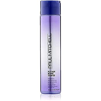 Paul Mitchell Platinum Blonde Purple Shampoo Cools Brassiness Eliminates Warmth For Color-Treated Hair + Naturally Light Hair Colors