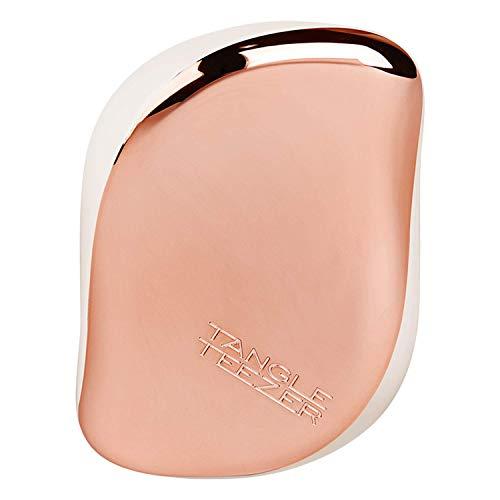 Tangle Teezer - Cepillo desenredante compacto Styler rosa dorado cream