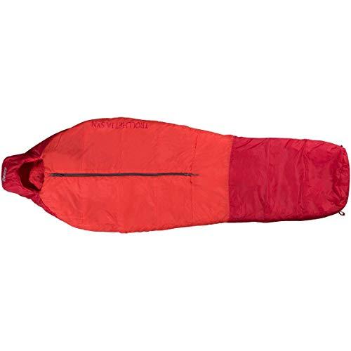 Bergans Trollhetta 1000 Schlafsack, fire red-red