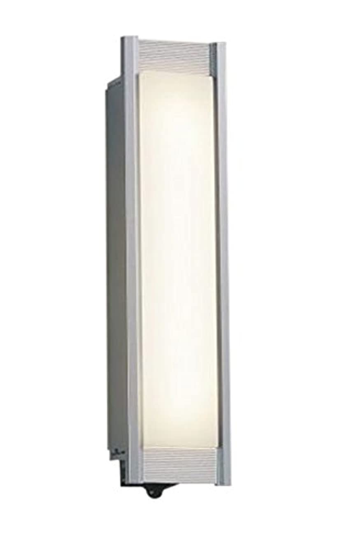 句読点パパ静脈コイズミ照明 人感センサ付ポーチ灯 マルチタイプ シルバーメタリック AU45229L