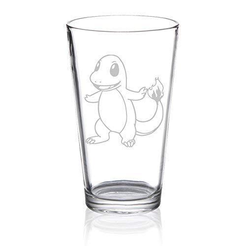 Charmander - Etched Pint Glass