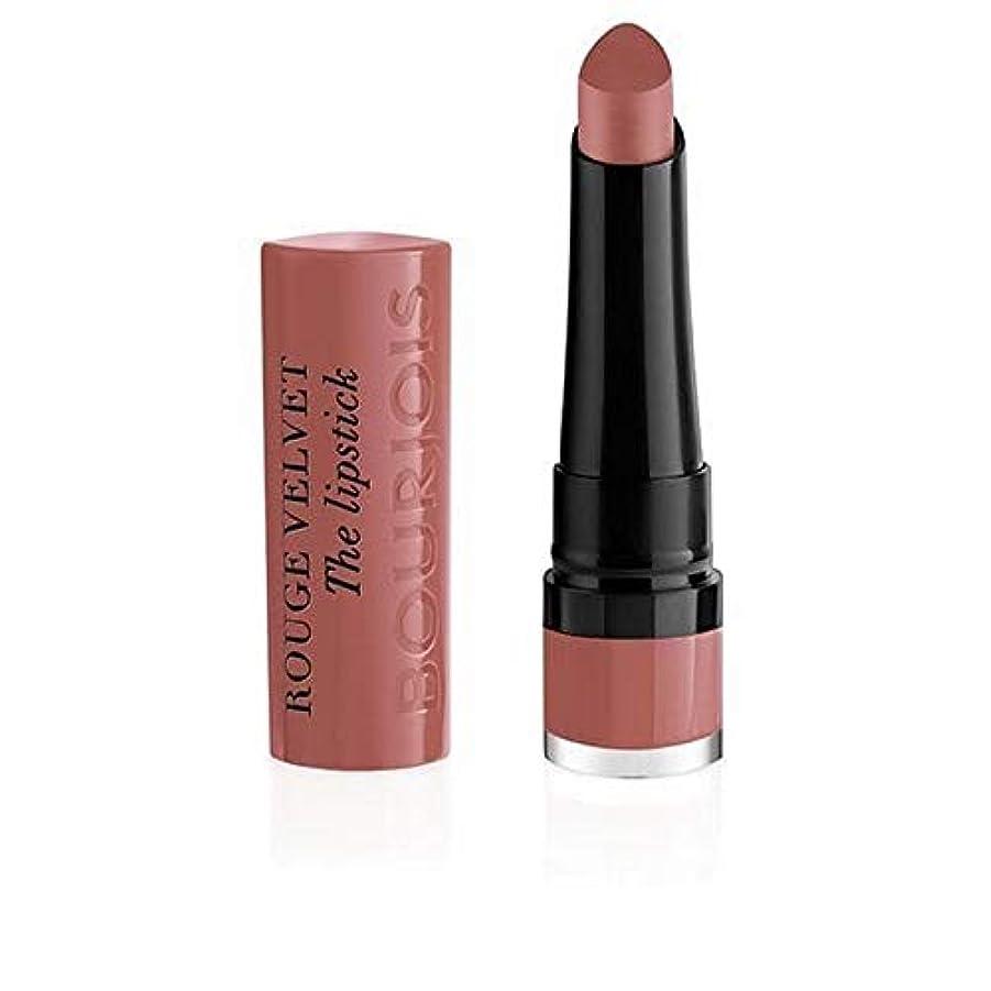 付添人偉業注意[Bourjois ] ルージュのベルベットの口紅13 Nochalicious - Rouge Velvet The Lipstick 13 Nochalicious [並行輸入品]
