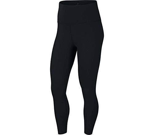 NIKE CJ3801-010 Mallas Deportivas 7/8 Yoga Luxe Finalon para Mujer, Black/Dark Smoke Grey, 2XL