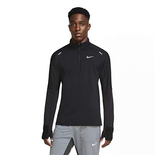 Nike Sphere Element Top 1 2 Zip 3.0 (Black Black, Medium)